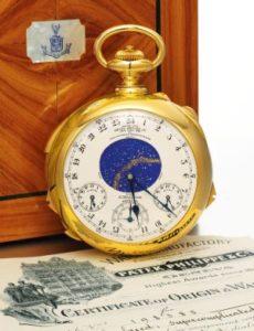 パテックフィリップ懐中時計