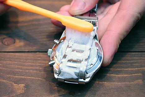 時計洗浄歯ブラシ