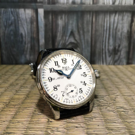 BALL WATCH TRAINMASTER 125th限定 NM3038D-LL3J-WH