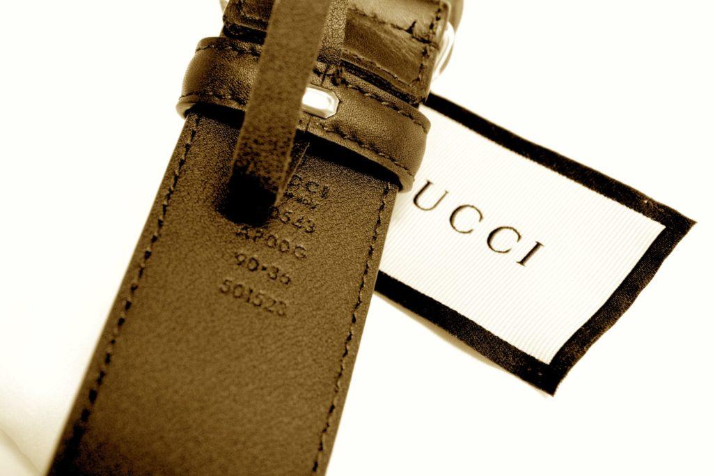 グッチ ベルト インターロッキング 370543 AP00G ブラック ゴールド金具